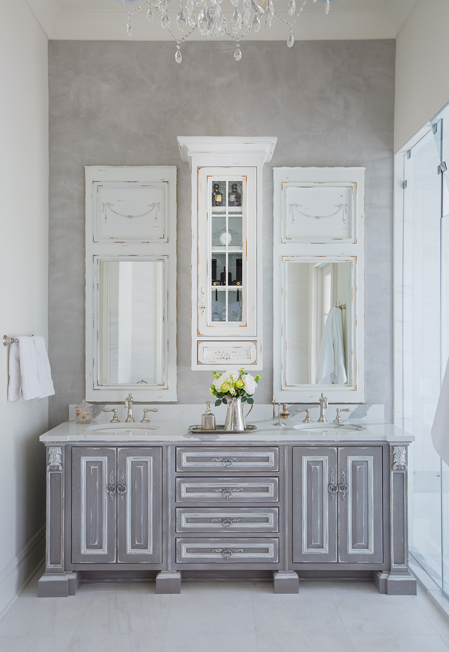 Beautiful Bathroom Cabinets in Jacksonville - The Cabinet ...